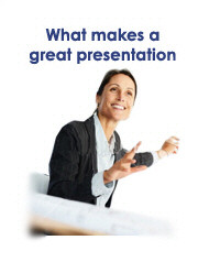 What makes a great presentation