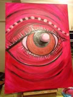 Emily's art 'Ganesha's eye'